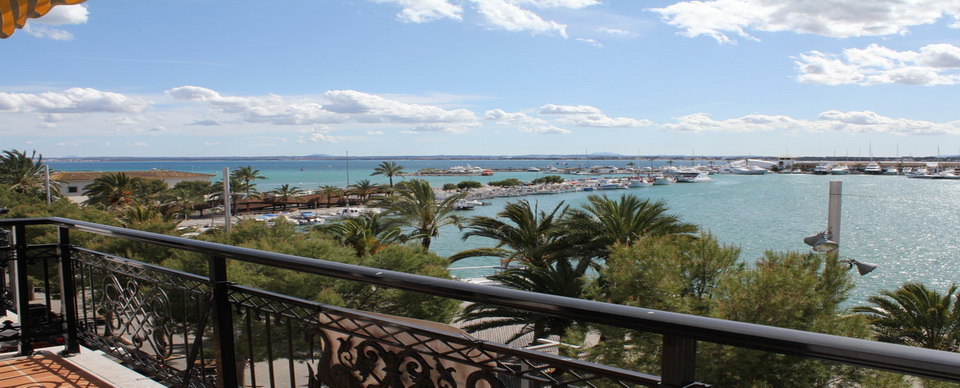 P-659 Apartment with views to Puerto de Alcudia Marina